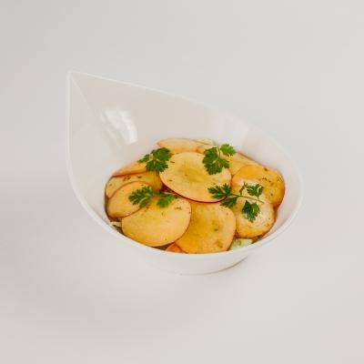 легкий салат с креветкой и авокадо