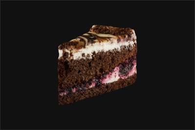 Торт «Матрица с черной смородиной»